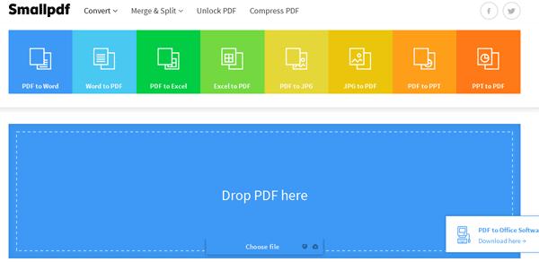 Panduan Cara Mengubah File PDF ke MS Word Online Dengan SmallPDF