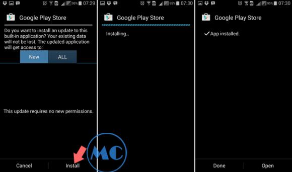 Cara Install Ulang Google Play Store Yang Terhapus