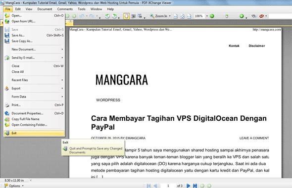 PDF XChange PDF Viewer