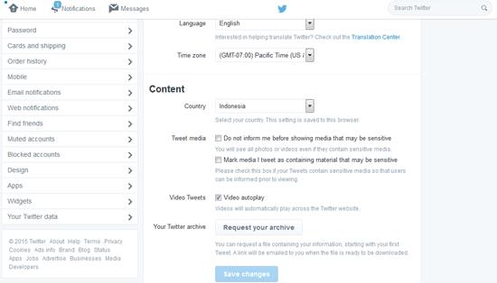 Cara Menghapus Akun Twitter Permanen Selamanya
