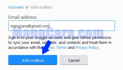 Cara Membuka Gmail Dari Akun Yahoo Mail