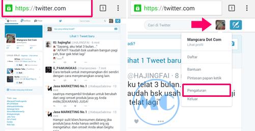 Cara Menonaktifkan Twitter Lewat HP Android