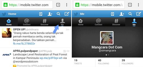 Cara Mengganti Username Twitter Lewat HP Android dan PC
