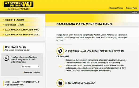 Ambil Uang di Western Union Luar Daerah Bisa Ga Sih?