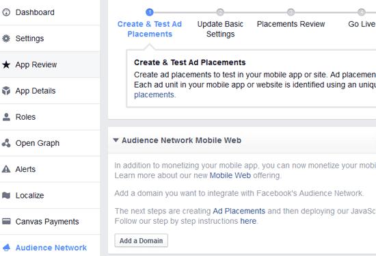Cari Uang Lewat Blog Dengan Facebook Audience Network
