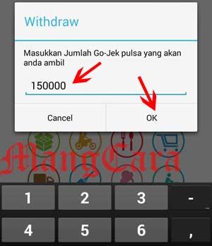 Cara Pengambilan Uang Hasil Gojek Via Rek Phone CIMB