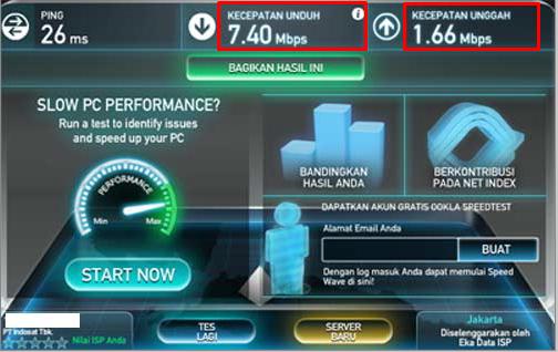 Begini Cara Mengukur Kecepatan Internet Di Komputer