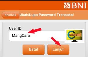 Bagaimana Jika Lupa Password Transaksi BNI Internet Banking?
