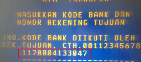 Meskipun Transfer Mandiri Ke Mandiri Tetap Gunakan Kode Bank 008