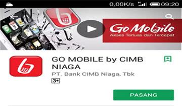 Untuk Driver Grab Aktifkan Go Mobile CIMB Niaga Supaya Mudah Cek Top Up