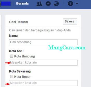 Bagaimana Mencari Teman di Facebook Tetapi Lupa Namanya?