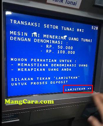 Bagaimana Cara Setor Tunai di ATM BRI?