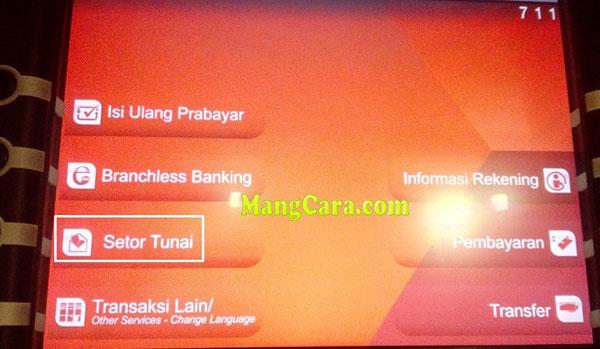 Begini Cara Setor Tunai di ATM CIMB Niaga Lengkap Dengan Gambar