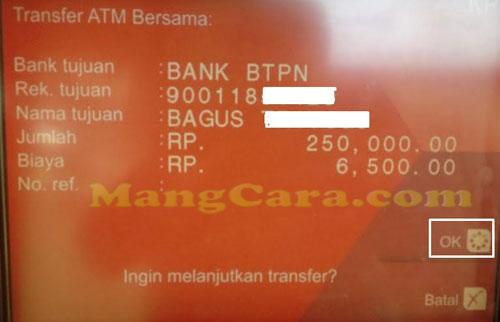 Cara Transfer dari CIMB Niaga Ke Jenius BTPN Lewat ATM