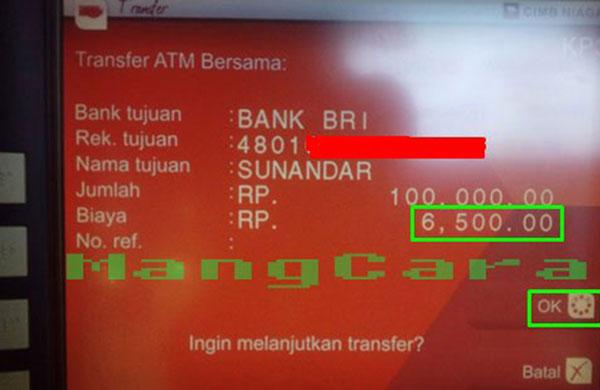 Cara Transfer Uang Lewat Atm Cimb Niaga Ke Bank Bri Dilengkapi Gambar Mangcara