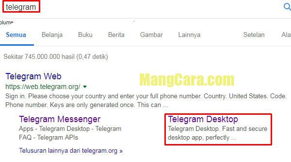 Cara Login Telegram di Desktop dan Laptop Dilengkapi Gambar