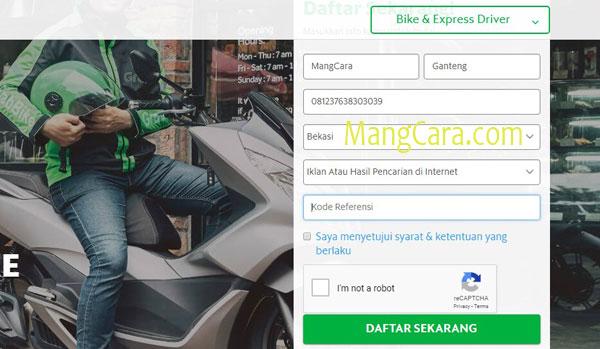 Cara Daftar Grab Motor Online dan Offline 2019 di Cibubur