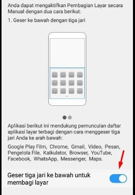 Cara Mengaktifkan Split Screen Vivo Y93 Dilengkapi Gambar