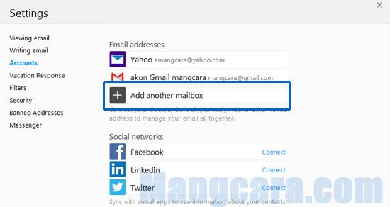 Add other mailbox
