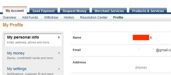 Pengalaman Ganti Nama Belakang di PayPal