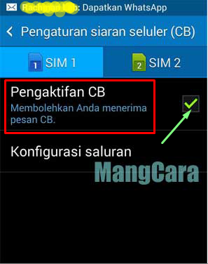 3 Langkah Cara Menghilangkan Pesan CB di Android