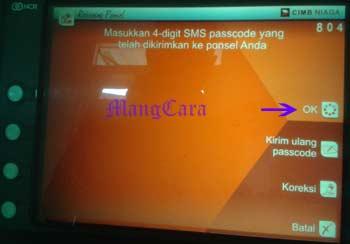 Cara menggunakan rekening ponsel CIMB Niaga