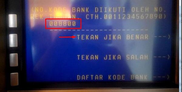 cara transfer dari BNI ke Mandir e-cash