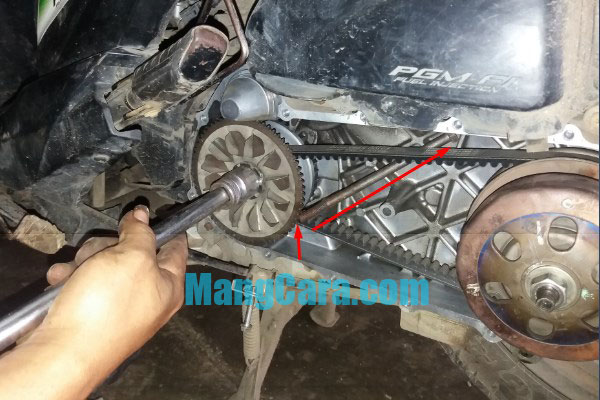 CVT Honda Beat Bunyi Kasar