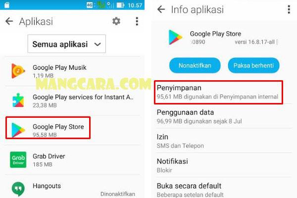 Error! Sayangnya Google Play Store Telah Berhenti Begini Mengatasinya